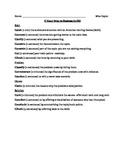 Original Oratory Outline- Speech and Debate