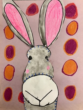 Bunny Rabbit Art (Drawing+Painting) w/ Video Link! Perfect