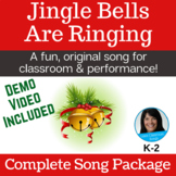Christmas Song & Activity   K-2   Recordings, Music, Lessons, SMART & Video Incl