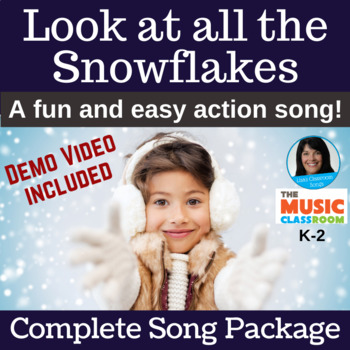 "Original Performance Song | ""Look at all the Snowflakes"" 