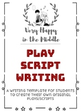 Original Play Script Template