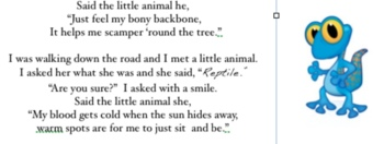 Original Poem about reptiles