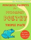 Original Poetry Pack: Color Poem, Bio Poem, and Simile Poem Kit