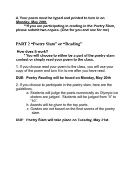 Original Poetry Project