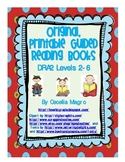Original Printable Leveled Guided Reading Books K-1