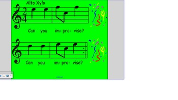 Original Song: Happy, Happy New Year with Orff arrangement