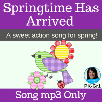 "Original Spring Performance Song | ""Springtime Has Arrived"" by Lisa Gillam 