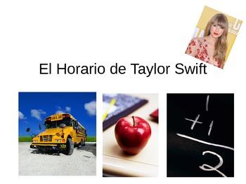 Original TPRS: El Horario de Taylor Swift