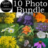 Original Ten Flower Stock Photo VALUE BUNDLE - Save $6.00