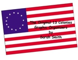 Original Thirteen Colonies Graphic Organizers