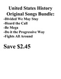 Original United States History Five Song Bundle Parody