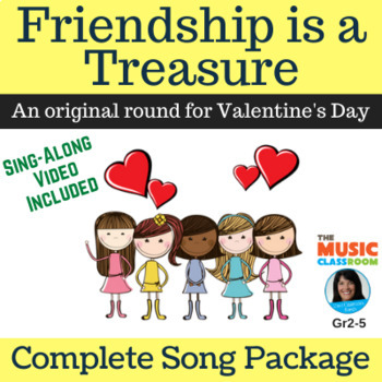 "Original Valentine Round | ""Friendship is a Treasure"" 