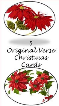 Original and unique Christmas Cards - Set 1