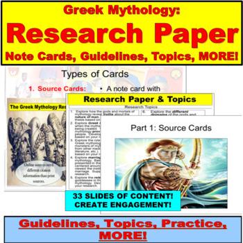 Mythos and Mythology:  A World of Origins