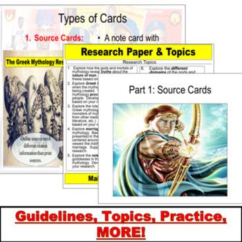 research paper topics mythology