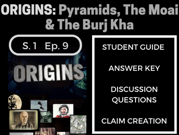Origins: Season 1: Episode 9 Great Pyramids, Moai, & Burj Khalifa