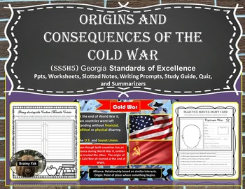 Origins and Consequences of the Cold War SS5H5 (fifth grade)
