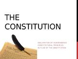 Origins and Principles of the U.S. Constitution