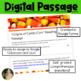 Origins of Candy Corn Reading Passage