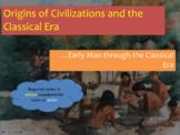 Origins of Civilization (Paleolithic & Neolithic Eras) Pow