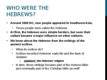 Origins of Hebrew Religion