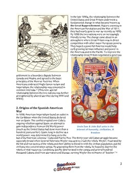 Origins of Imperialism and the Spanish-American War