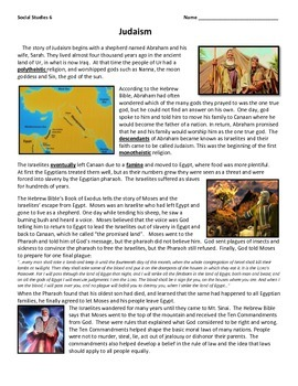 Origins of Judaism