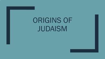 Origins of Judaism Unit Plan