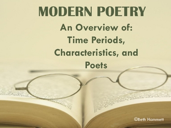 Origins of Modern Poetry: Beginning of Time through 19th Century