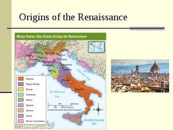 Origins of Renaissance PPT
