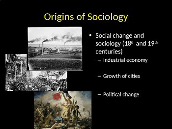 Origins of Sociology