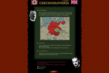 Origins of World War Two - Czech Crisis Online Activity