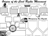 Origins of the Civil Rights Movement Graphic Organizer