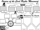 Origins of the Civil Rights Movement Graphic Organizer