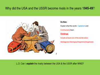 Origins of the Cold War Scheme of Learning