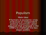 Origins of the Populist Movement in the U.S.