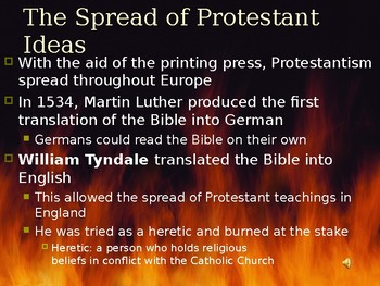 Origins of the Protestant Reformation PPT