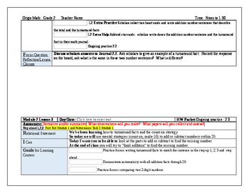 Origo Grade 2 Stepping Stones Module 2, Lessons 1-12 Editable Lesson Plans