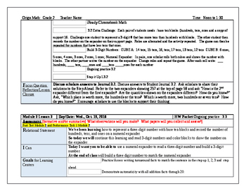 Origo Grade 2 Stepping Stones Module 3, Lessons 1-12 Editable Lesson Plans