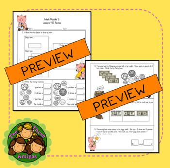Origo Math 2nd Grade Module 11 Lessons 9-12 Formative Assessment