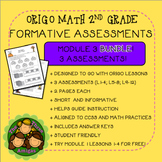 Origo Math 2nd Grade Module 3 Formative Assessment BUNDLE