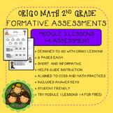 Origo Math 2nd Grade Module 3 Lessons 1-4 Formative Assessment