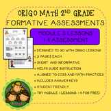 Origo Math 2nd Grade Module 3 Lessons 1-4 Formative Assessment