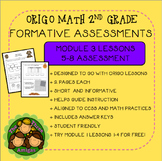 Origo Math 2nd Grade Module 3 Lessons 5-8 Formative Assessment