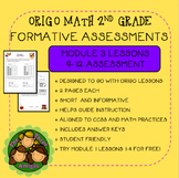 Origo Math 2nd Grade Module 3 Lessons 9-12 Formative Assessment