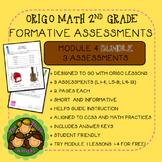 Origo Math 2nd Grade Module 4 Formative Assessment BUNDLE
