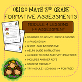 Origo Math 2nd Grade Module 4 Lessons 1-4 Formative Assessment