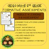 Origo Math 2nd Grade Module 4 Lessons 5-8 Formative Assessment