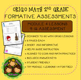 Origo Math 2nd Grade Module 4 Lessons 9-12 Formative Assessment