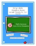 Origo Slate Stepping Stones Grade 4 Module 1-12 Grade Shee